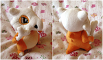 Cubone Plush by d215lab