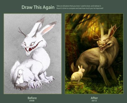 Draw this again challenge by vesner