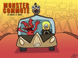 WFW: Monster Commute by Hexaditidom
