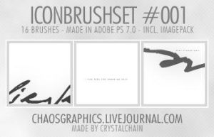 Iconbrushset - No.001 by glampunk