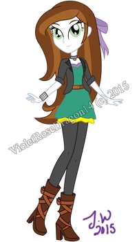 MLP: Angelic's second look by VioletRoseDragon14