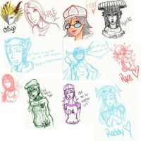 ArtRage2 Gaia Doodles by GoodRejects