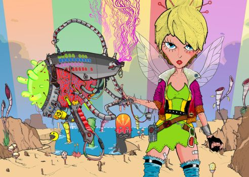Tinkerbell 2099 by arcz