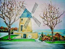 Le moulin by Acrylinne