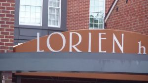 The name Lorien at a hotel in Alexandria, VA by NamesAndSuch