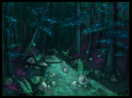 Environment Practice 1 by elz-art