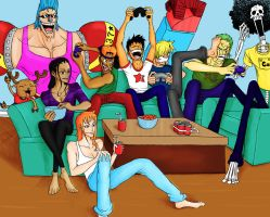 Strawhats and videogames by xMrNothingx