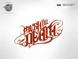 Fresh till Death - Logotype by fERs