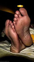 2014-05-28 His Feet by 365feet