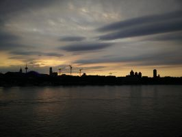 Cologne Skyline by 1nfiltrait0rN7