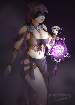 Seris from PALADINS by Extroy-JD by Extroy-JD