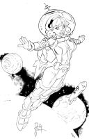 Space Girl-sm by mlh70