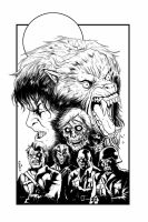 AMERICAN WEREWOLF IN LONDON T by mister-bones