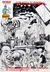 On Sale:  cover sketch D- A3-Marker on Paper by PinoRinaldi