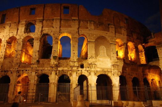 Colosseum at night by Fuchsia-Groan