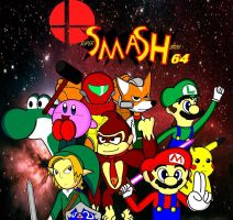 Super Smash Bros 64 by conkeronine