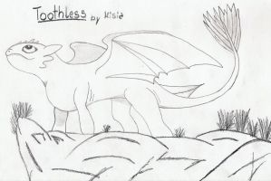 Toothless2 by Ravenkie
