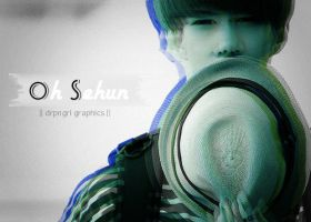 3D Sehun by derpingirl