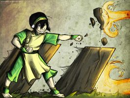 Toph Bei Fong by MabayaNKR