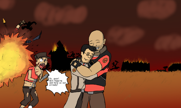 [TF2/Love] Caring in the wrong place by Dannyboy2013