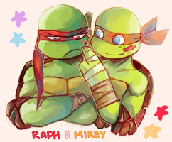 TMNT bandaid by boyvirus