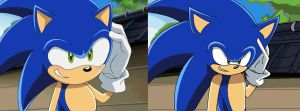 Sonic X Screenshot Redraw by AmyRose1234789