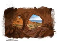 cave by NilesRockwell