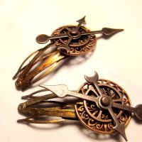 Clockwork Lolita Hair Barrette by SteamSociety