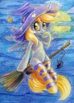 Kawaii Witch Derpy by Maytee