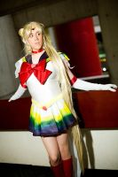 Battle Weary Sailor Moon by Reipoker