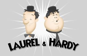 Laurel and Hardy by leosauthier