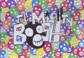 The Supreme Mighty Boosh by ukelelerose