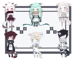 [CLOSED] Scarfy Adopts by silverblossoms