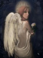 Seduced by an angel by babsartcreations