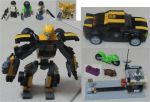 KRE-O 98814 Quest for Energon - Stealth Bumblebee by aim11