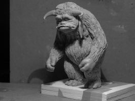 labyrinth ludo sculpture by yotaro76