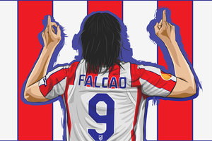 Radamel Falcao by vonrakka