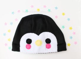 Penguin Hat by CosmiCosmos