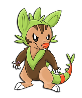 Chespin evolution thing by RegallyFlawed