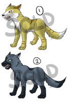 Canine adoptables 1 [CLOSED] by GameMaster15