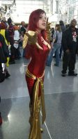 Dark Phoenix Cosplay - New York Comic Con 2013 by MarieKovacs
