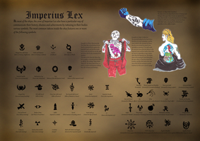 Imperius Lex Tattoos by orcbruto