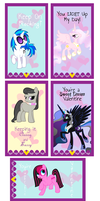 MLP: Valentines 2014 by KPenDragon