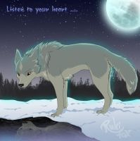 Listen to your heart by RukiFox