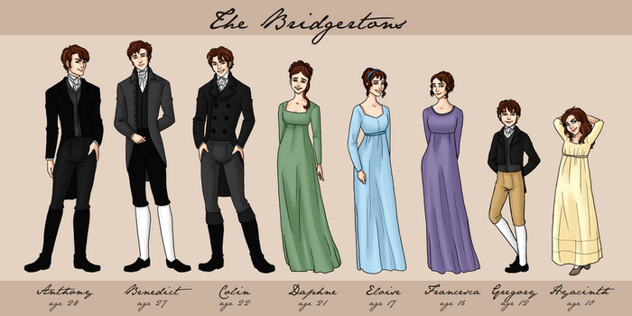 The Bridgertons by bechedor79