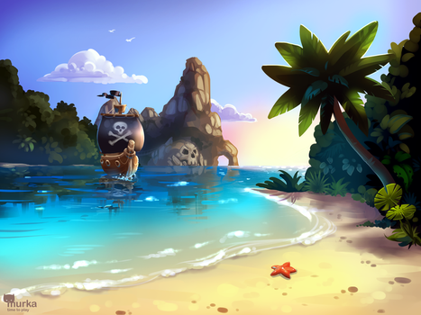 pirate archipelago by mortresss