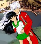 Inuyasha and Kagome by vallo