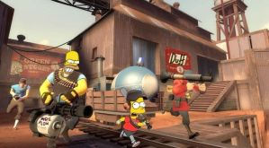 The Simpsons in TF2 by sdws