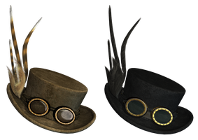 Gothic Hat PNG Stock by Roys-Art