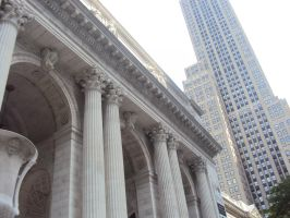 NYC Public Library by superahmazingnes